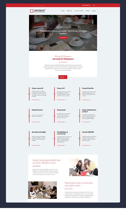 Exemplu web design
